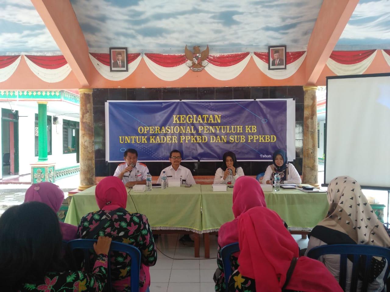 Pembinaan PPKBD dan Sub PPKBD di Kecamatan Tempeh