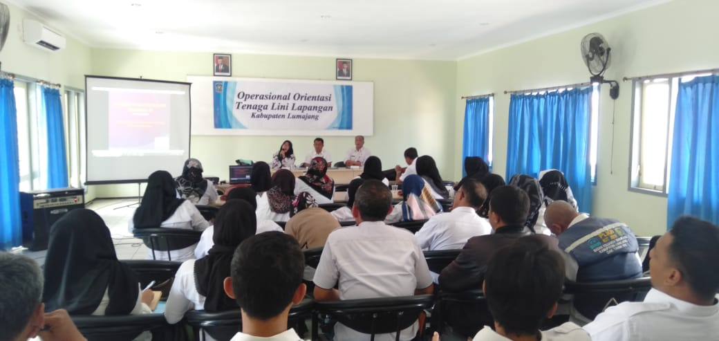 Operasional Orientasi Tenaga Lini Lapangan Kabupaten Lumajang