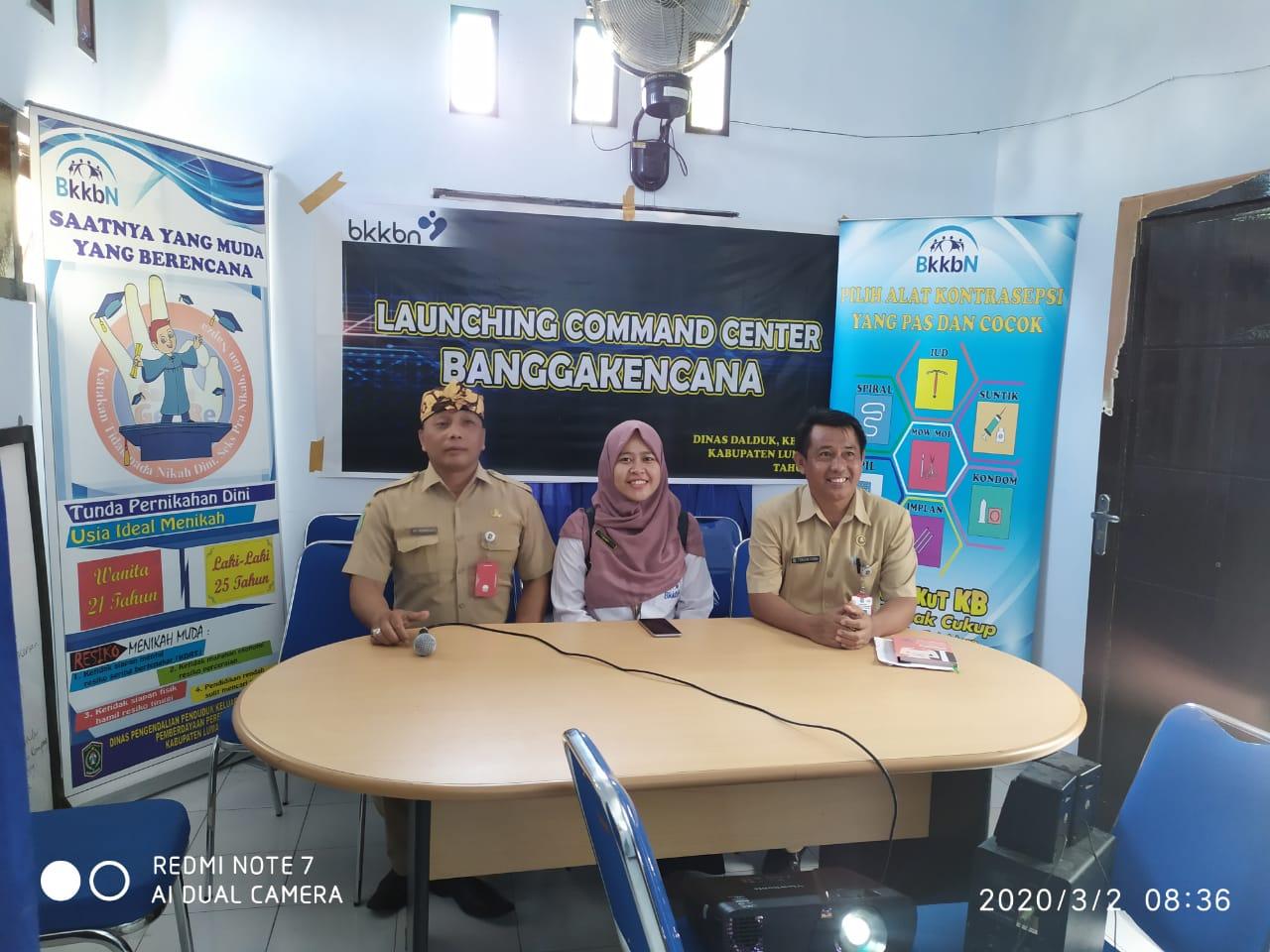 Launching Command Center BANGGAKENCANA